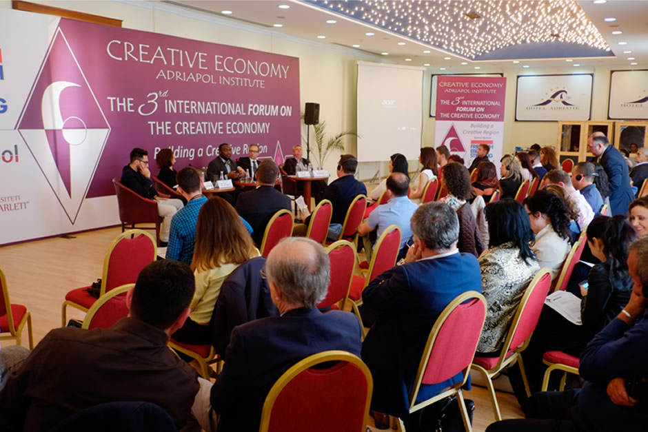 THE 3-RD INTERNATIONAL FORUM ON THECREATIVE ECONOMY !